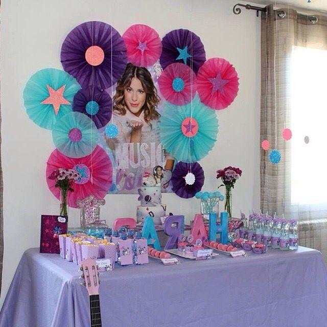 Disney Violetta Birthday Party