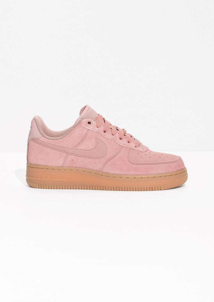 & Other Stories image 1 of Nike Air Force 1 '07 in Pink