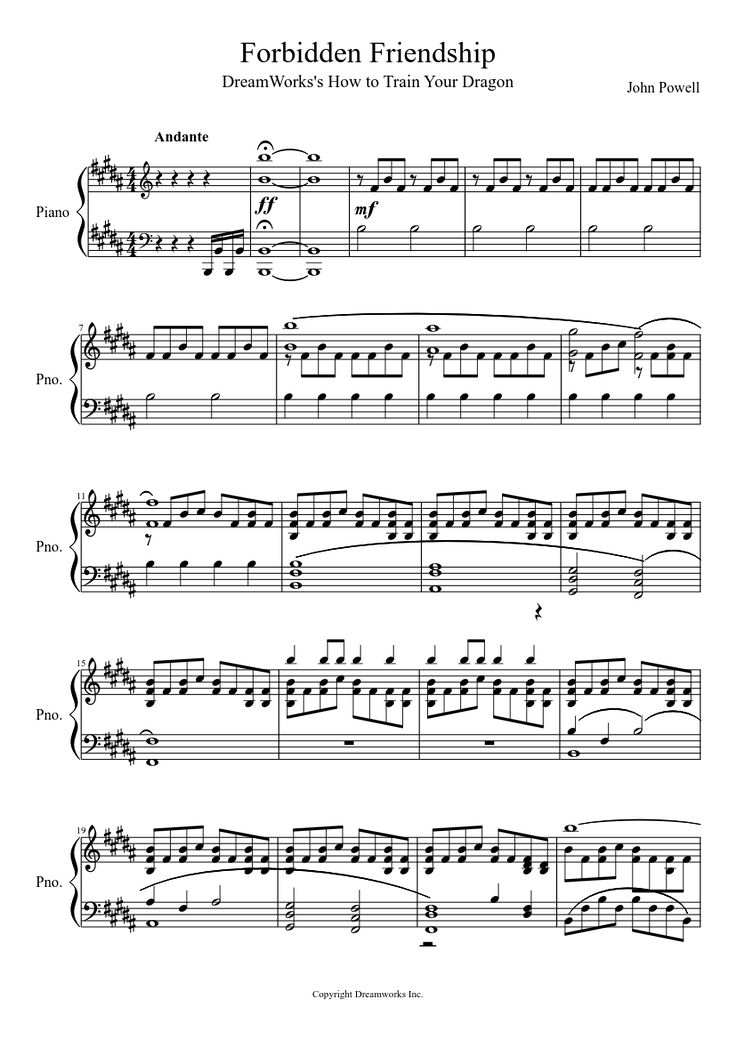 how to train your dragon 2 violin sheet music