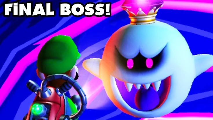 Luigi's Mansion Dark Moon - King Boo Final Boss Fight and Ending! <<< This guy, ZackScottGames, is amazing and hilarious! Go check him out on YouTube!