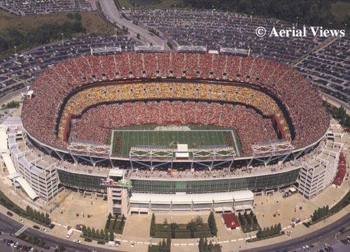 FedEx Field  Hyattsville, MD - Home of the Washington Redskins