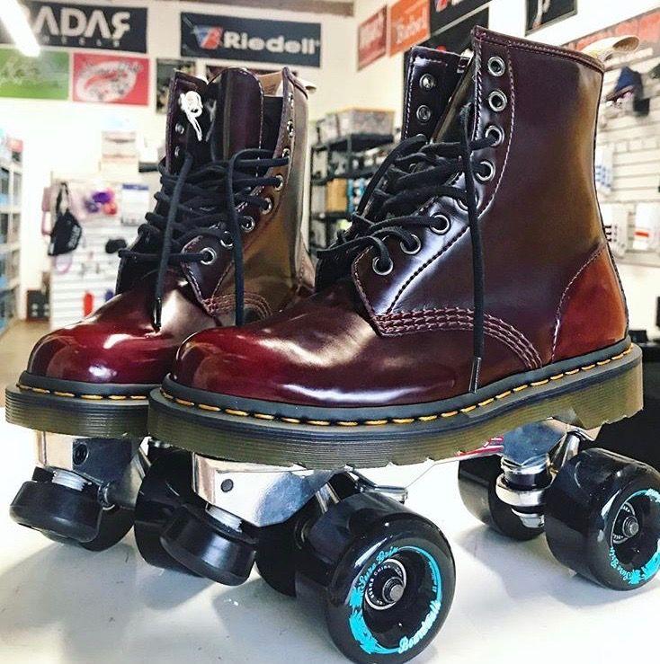 Custom Vans roller skates by Sin City Skates | Roller skate