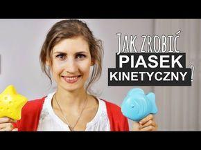 DIY   Jak zrobić piasek kinetyczny? #1   Zaradni Rodzice - YouTube