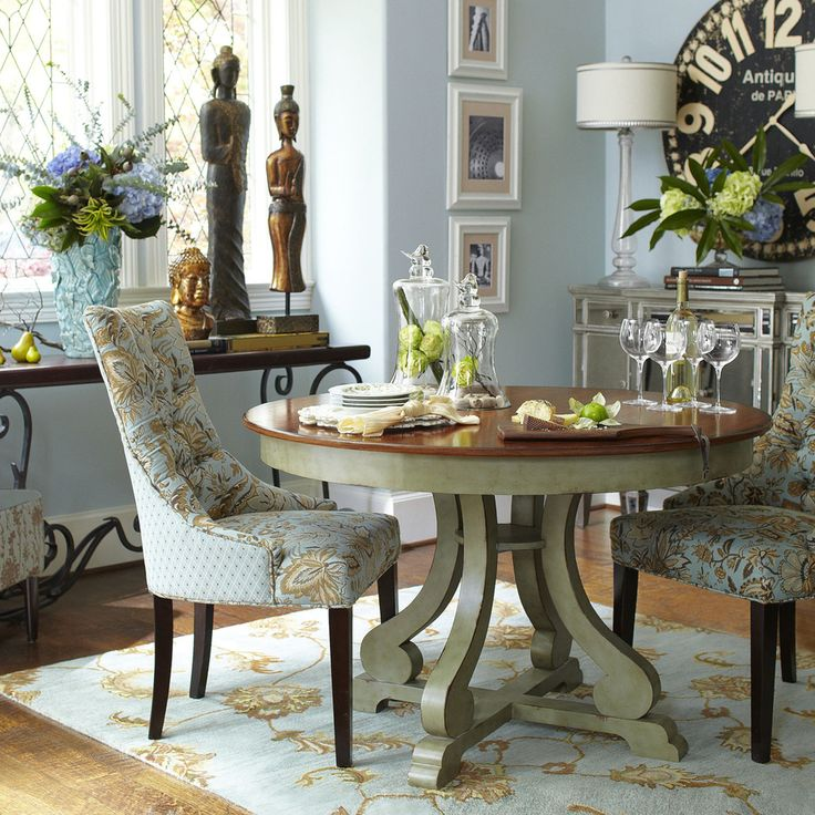 pier 1 living room rugs%0A THIS is the small dining furniture I NEED   need this whole dining room and  everything in it PIER     Laurier Dining Chair  Jacobean Blue Laurier  Dining
