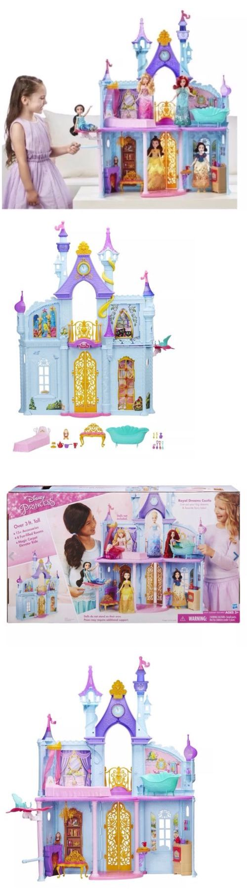 Disney com princess castle backgrounds disney princesses html code - Disney Princesses 146030 New Disney Princess Royal Dreams Castle Furnished Rooms Accessories Adventure