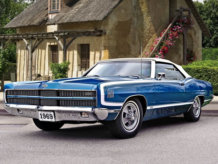 1969 Ford Galaxie 500 429 XL GT Convertible http://www.musclecardefinition.com/