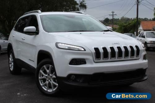 2015 Jeep Cherokee LONGITUDE Longitude White Automatic 4sp A 4DWAGON #jeep #cherokee #forsale #australia