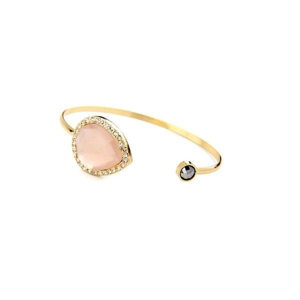 Pink Rhinestone Bangle