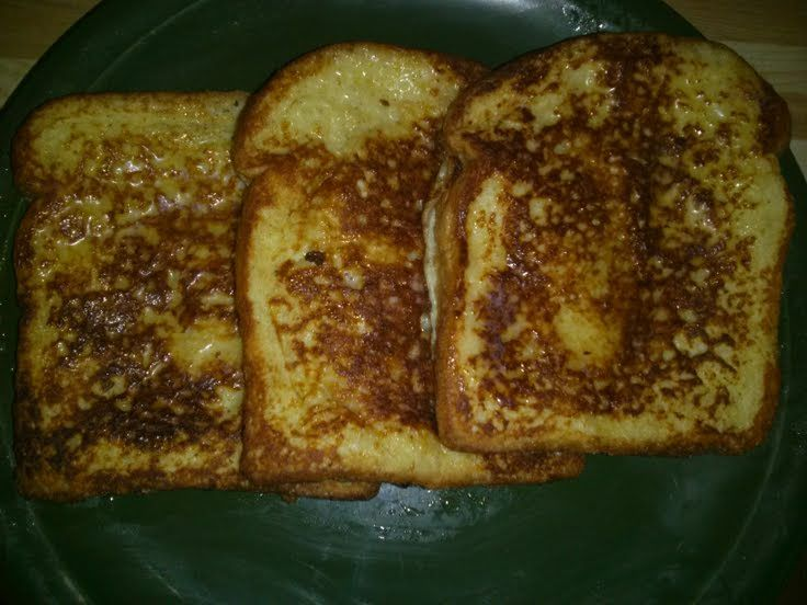 "Vanilla french toast! """" @allthecooks #recipe"