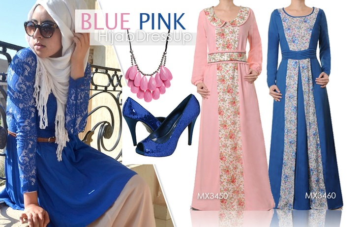 BLUE PINK Style