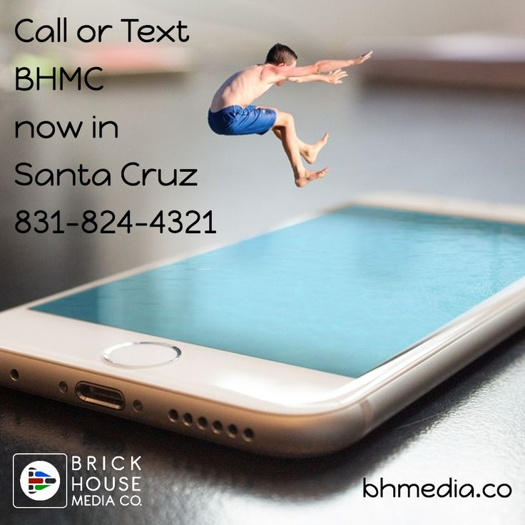 Call or Text @BHmediaCo based now in #SantaCruz at 831-824-4321 #bhmediaco for expert Multimedia Marketing, Video Production and Social Media Strategy