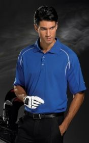 Promotional Products Ideas That Work: CONTRAST STITCH POLO. Get yours at www.luscangroup.com