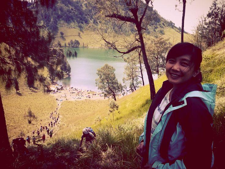ranu kumbolo lake at semeru mountain...finally i made it!