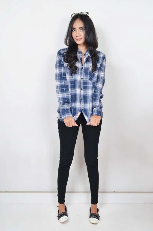 Asri Putriningrum Flannel Shirt