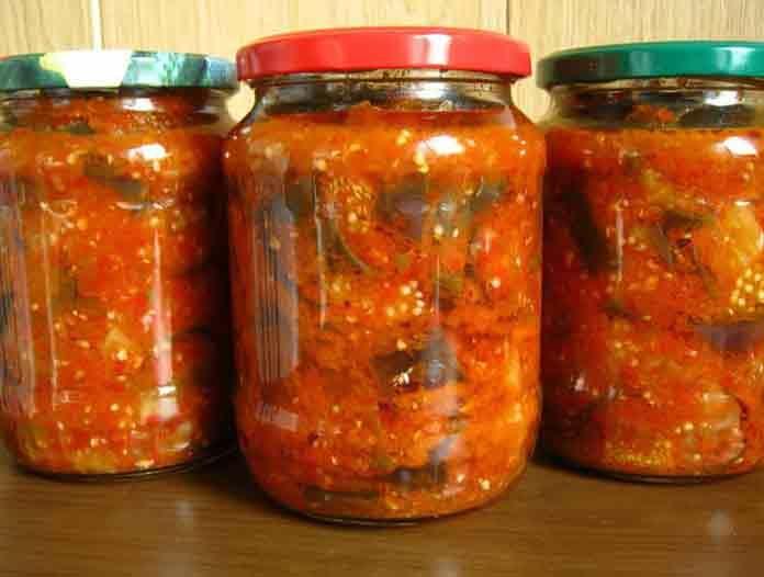 Баклажаны закуска на зиму рецепты | Вкусно готовим дома