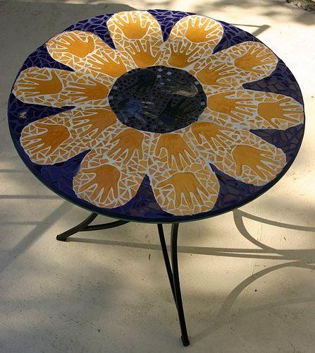 School Auction Mosaic Table (Kindergarten) by jackienoyes, via Flickr