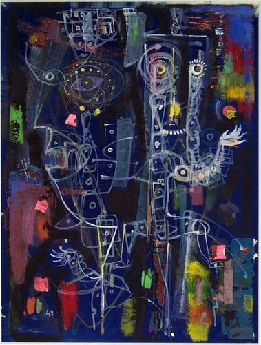 Nieuwenhuys, Jan (1922-1986) - 1948 No Title (Museum Boijman Van Beuningen, Rotterdam)