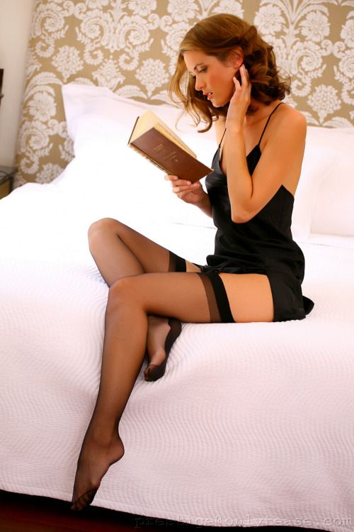 Pantyhose stocking heel movies