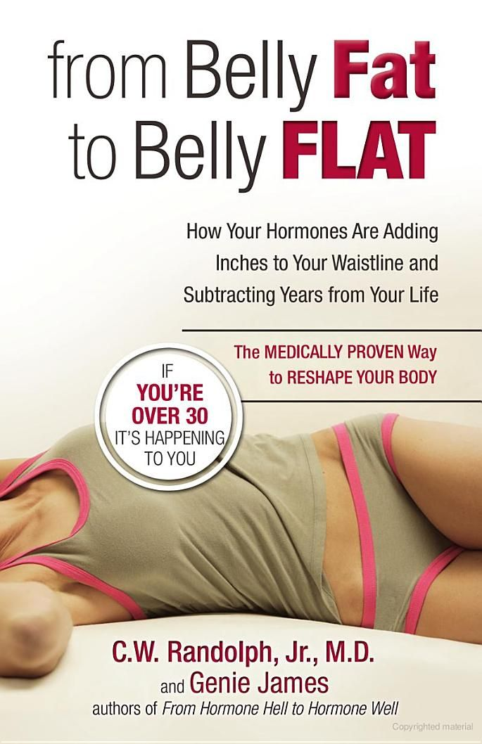Hormones! Hormones! Hormones! This explains me and my fight with my belly! Still reading...