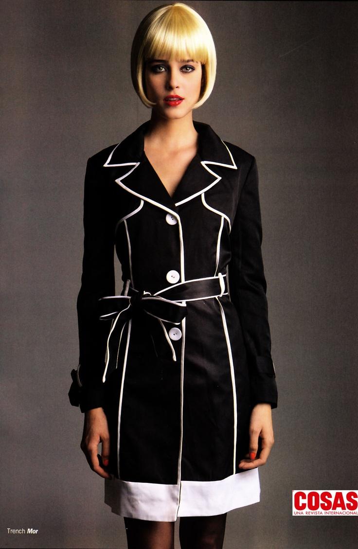 Trench #41544, Revista Cosas Especial Moda, Abril 2013