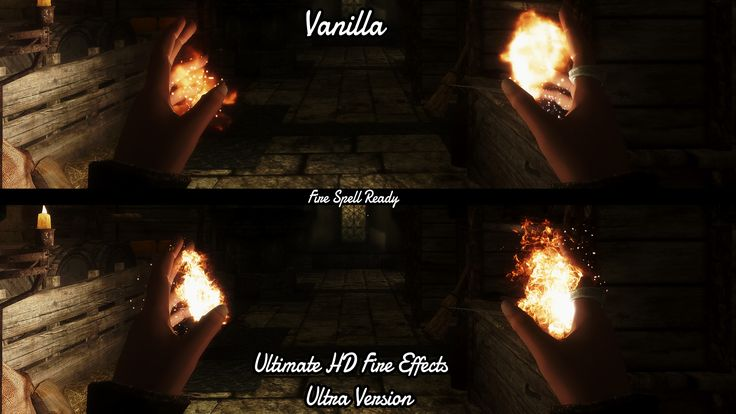 Ultimate HD Fire Effects at Skyrim Nexus - mods and community
