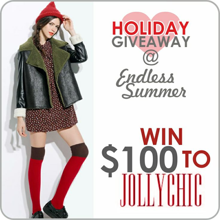 Joim this giveaway>> http://www.endlessummerblog.com/2013/11/jollychic-holiday-giveaway.html?showComment=1386101551230#c4336421529579491735