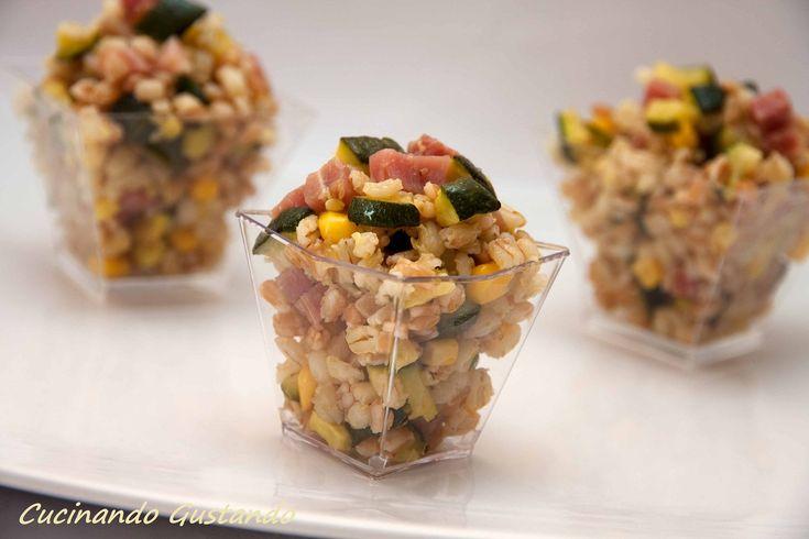 Insalata+di+Farro+zucchine+e+speck