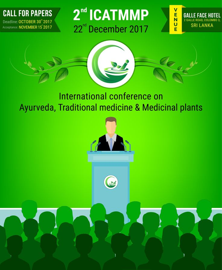 """MEDOBAL proudly invites Healthcare Professionals around the world to the """"INTERNATIONAL CONFERENCE ON AYURVEDA, TRADITIONAL MEDICINE & MEDICINAL PLANTS"""" on 22nd December 2017 at Colombo, Sri Lanka.  #InternationalConference #ICATMMP #Unani #Siddha #HerbalMedicine #TraditionalMedicine #MedicinalPlants #MedicinalResearchers #MedicalSeminar #HealthcareProfessionals #HospitalAdministrators #AyurvedicLeaders #MedicalStudents #InternationalMedicineJournal #SriLanka #India #Thailand #Malaysia…"""