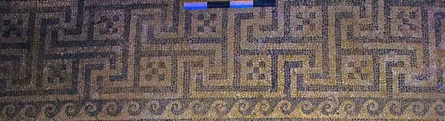 The key-motive, or meander, of the mosaic