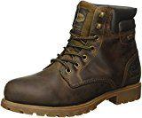 Dockers by Gerli Herren 35VE001-400320 Combat Boots, Braun (Cafe 320), 43 EU