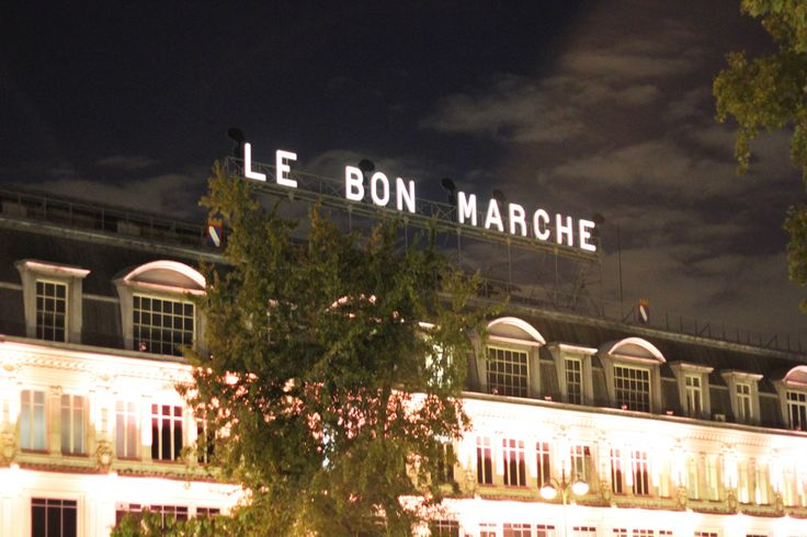 11 Places You Need to Visit in Paris, According an Insider - Le Bon Marché from InStyle.com