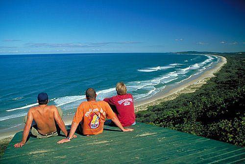 Byron Bay Surfers, Australia