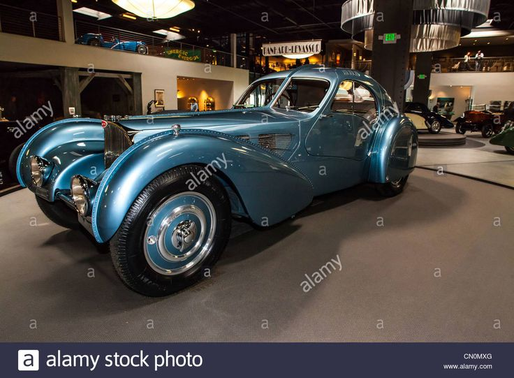 Amazing Stock Photo   The 1936 Bugatti Type 57 SC Atlantic At The Mullin Museum In  Oxnard California. One Of Three Cars Built With Only Two Surviving