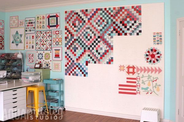 How To Make A Quilt Design Wall Sewing Room Design