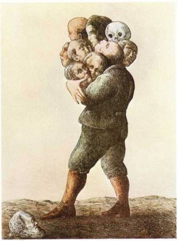 Roland Topor (1938-1997) - ''Les Ancêtres'' (undated)