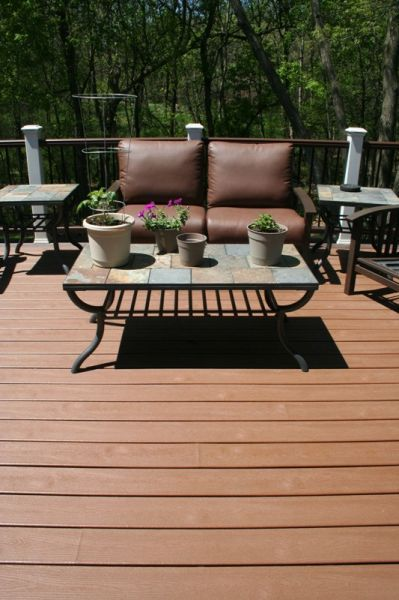 Trex Decking Colors >> Deck - Trex Transcend - Tree House color | Deck | House colors, Deck, Home Decor