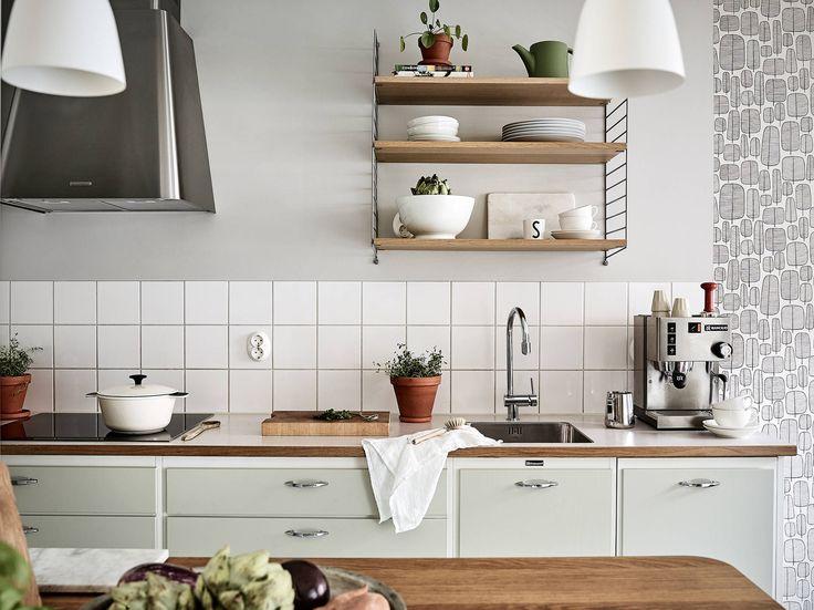 Köket från Kvänum renoverades 2013