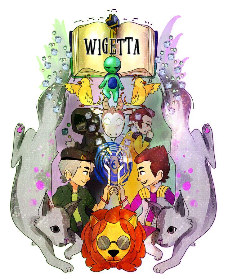 Wigetta y el Baculo Dorado. by ShlomoHomo