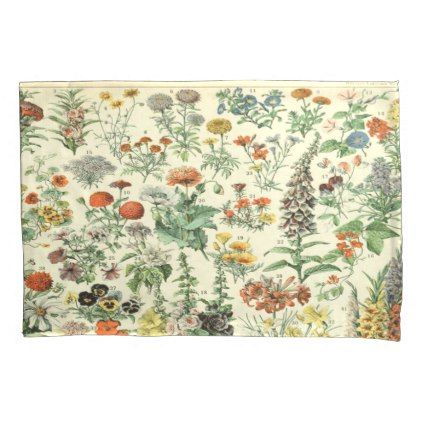 #floral poster pillow case - #floral #gifts #flower #flowers