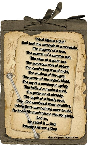 Fathers Day Poems | Fathers Day Comments, Images, Graphics, Pictures for Faceboo...