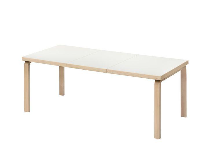 TABLE 97 - extension table | ARTEK | Design: Alvar Aalto | 1935 --- http://www.artek.fi/products/tables/210