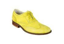 Cole Haan, Men's Colletion.  Air Colton, in Yellow Nubuck.