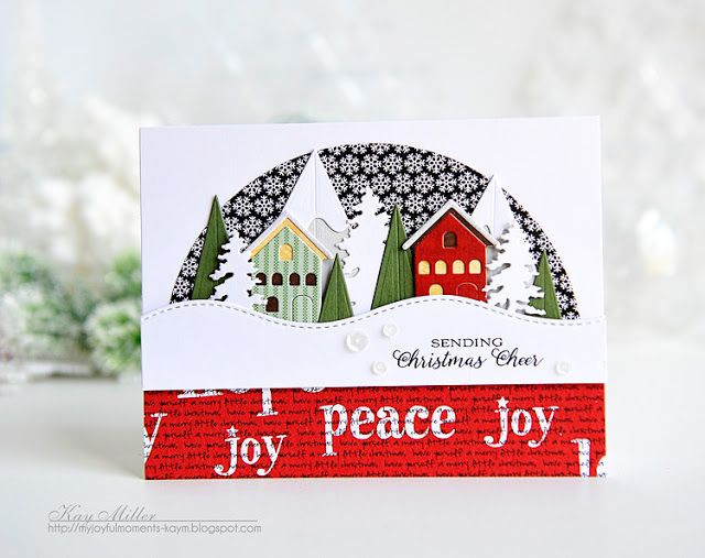 Hello!   I have loved Snow Globes forever, and when I saw the new Snow Globe Die from Tim Holtz, I had to have it! There are 23 dies in the ...