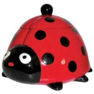 Amazon.com: Ladybug Cookie Jar