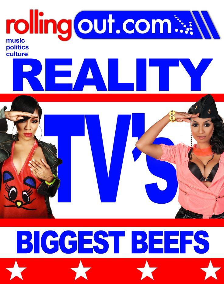 Reality TV's Biggest BeefsBiggest Beef, Reality Tvs, Reality Tv S, Tvs Biggest, Tv S Biggest