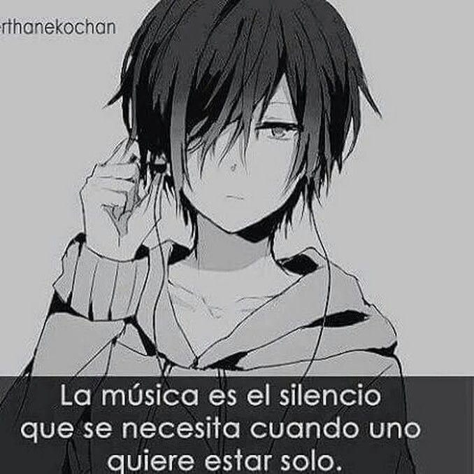 Frase anime, la musica