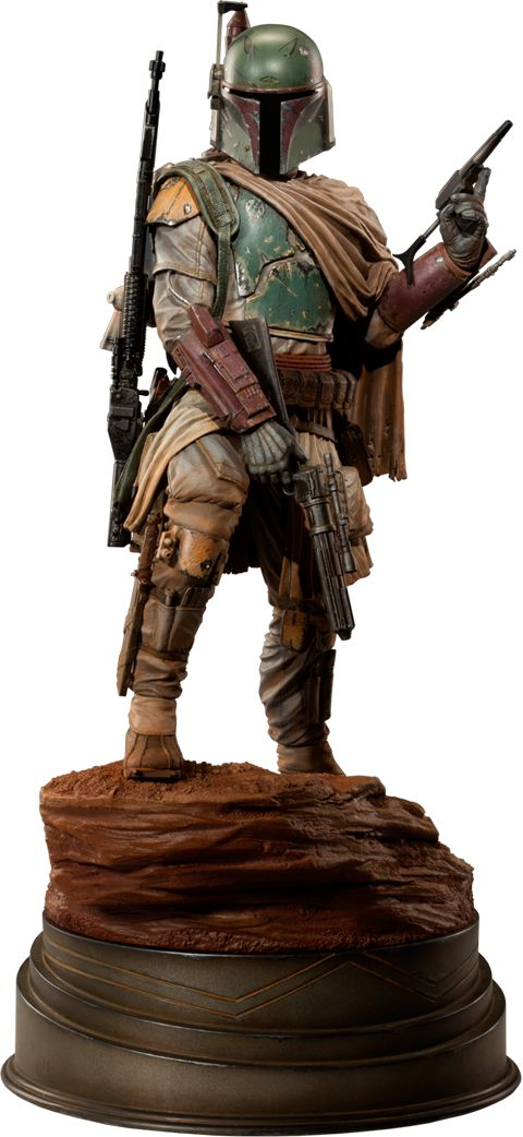Boba Fett - Mythos  http://www.sideshowtoy.com/collectibles/star-wars-boba-fett-mythos-sideshow-collectibles-200158/?ref=HZ1B