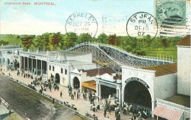 carte postale du Parc Dominion