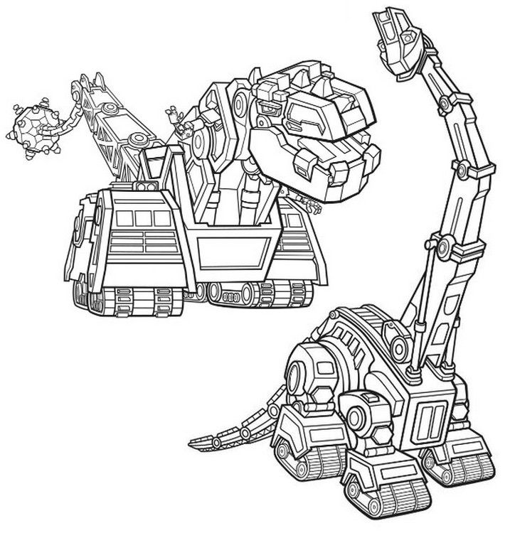 Lana And Mega Trux Dinosaur Coloring Pages Coloring Pages Cars Coloring Pages