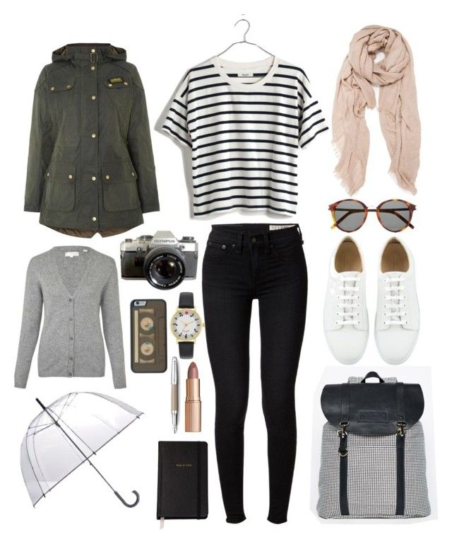 """""""'Bama Day 1"""" by crbbgbar ❤ liked on Polyvore featuring rag & bone, Jack Wills, Madewell, Yves Saint Laurent, Totes, Barbour, Chinti and Parker, Kate Spade, Fountain and Charlotte Tilbury"""